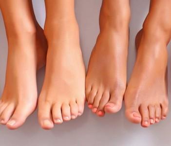 микроорганизме на ногах